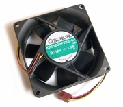 Sunon 12v DC 1.6w 80x25mm 3-Wire Fan KDE1208PTB3-6A-M