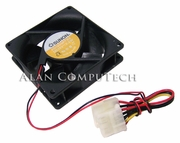 Sunon 12v DC 2.2w 90x25mm Molex Fan KD1209PTB2-CLE with Power Connector