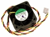 Sunon 12v DC 2.3w 3-Wire 38x30mm Fan PMD1238PQB2-A Dell 3-Pin Single FAN