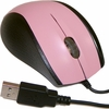 Tornado Pink Wired Scroll USB Optical Mouse M360-PINK 5V-50mA Black-Pink NEW Bulk