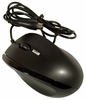 Tornado Wired Scroll PS2 Optical Mouse New M460-BLACK 5V-50mA Black NEW Bulk