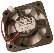 Toshiba 5v DC 220mA 2-Pin 2-Wire 50x10mm Fan D50M05-1 Wind Ace Brushless