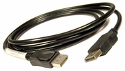 Tyco Display Port M-M 6.5ft Black Cable 50.7C519.011 LL114039- CSA- 50-7C519-011