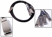 Volex Passive QSFP to 4 SFP 2M Cable New VAHS-30-0428-2M