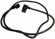 Well Shin C13-C14 Angled 10A 5-Ft Power Cord H05VV-F50