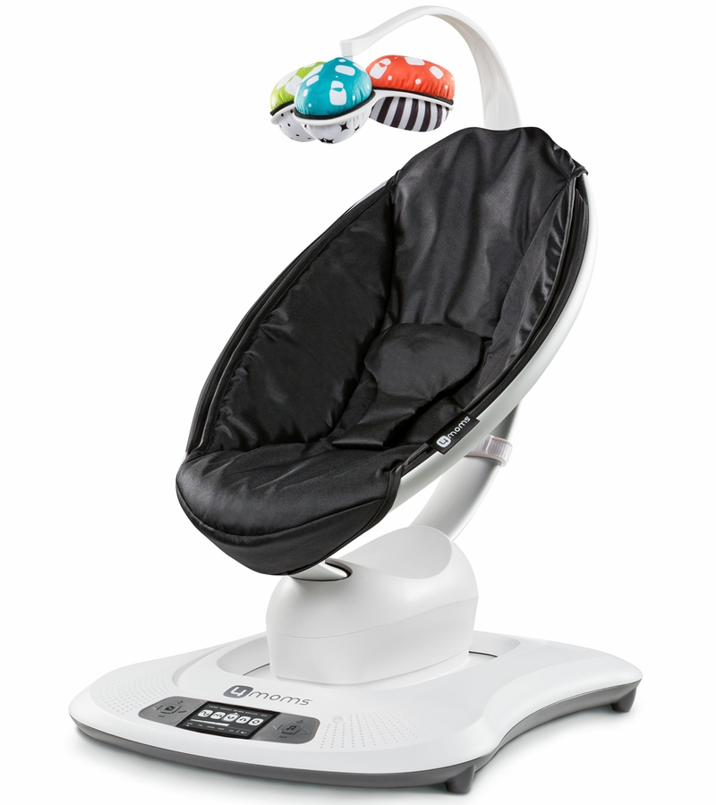 4moms mamaroo baby swing black classic. Black Bedroom Furniture Sets. Home Design Ideas