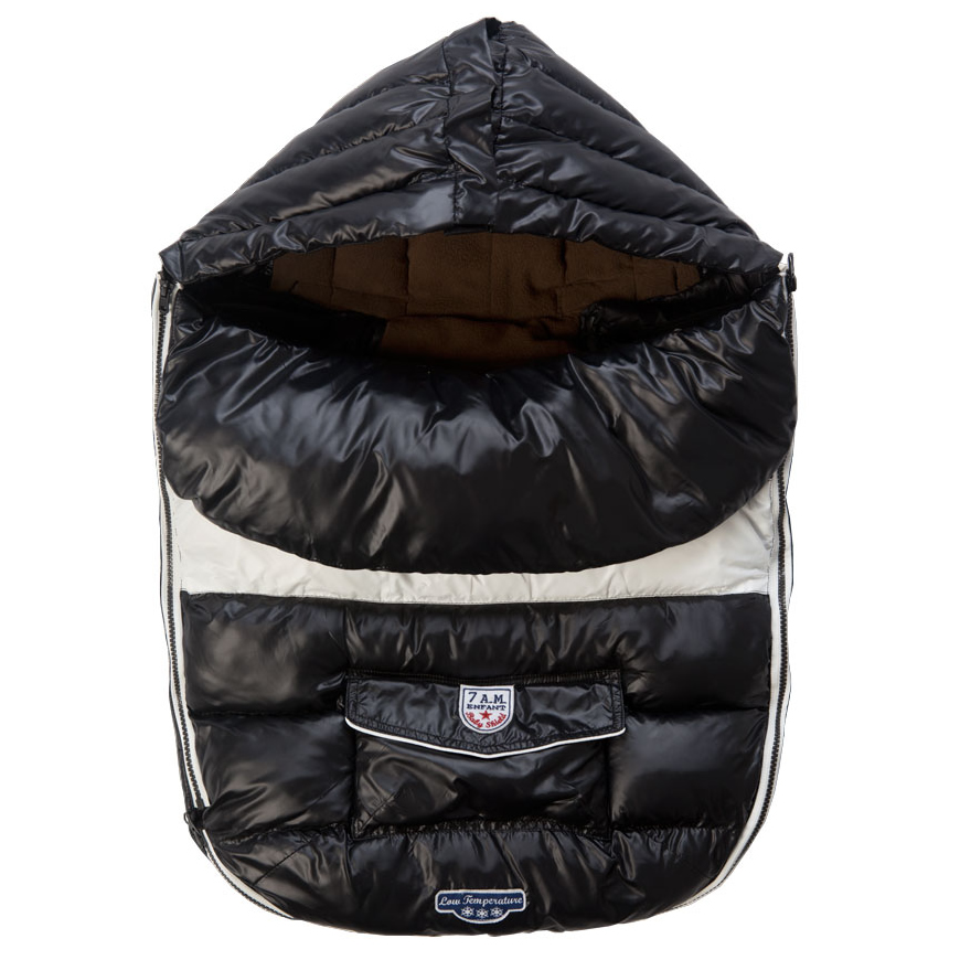 7 A.M. Baby Shield, Large - Black