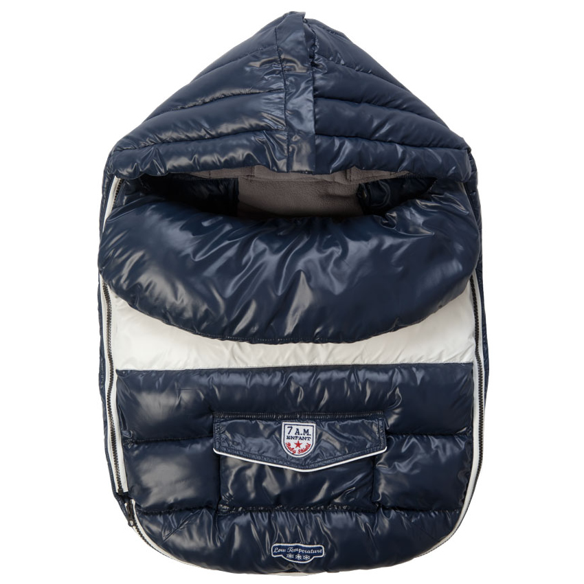 7 A.M. Baby Shield, Large - Midnight Blue