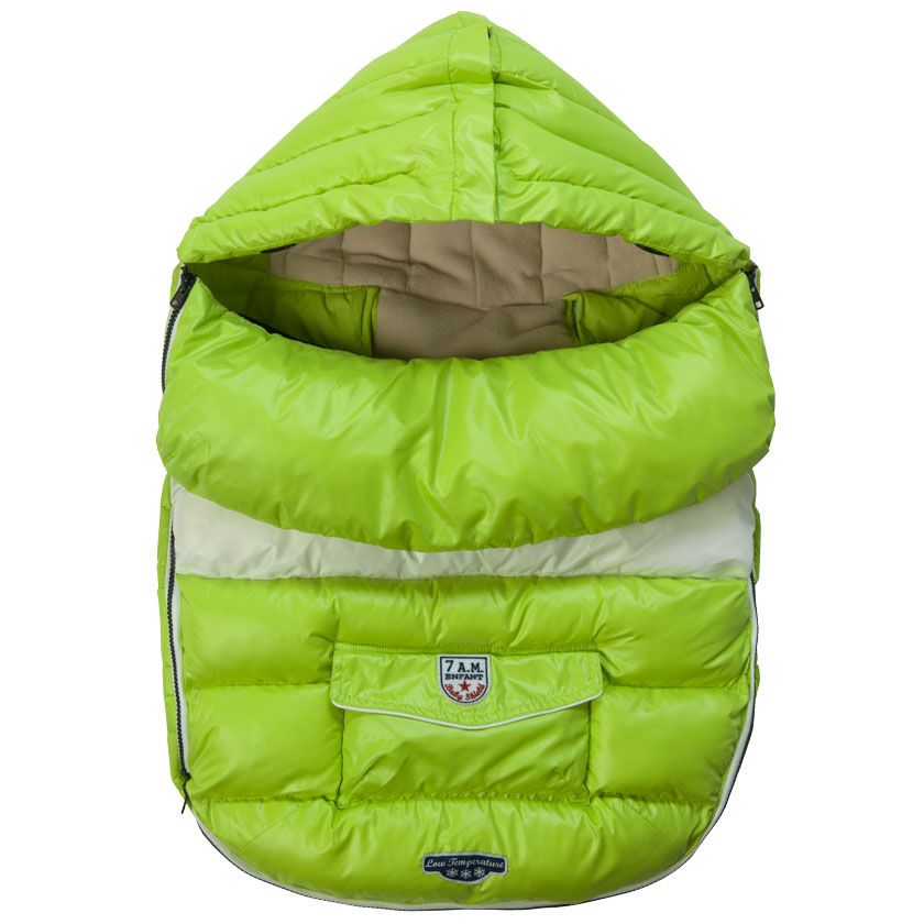7 A.M. Enfant Baby Shield, Small - Neon Lime