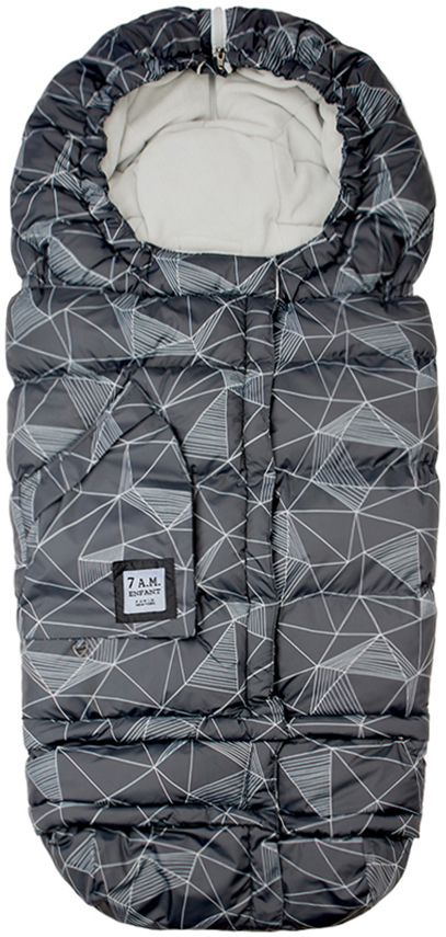 7 A.M. Blanket 212 Evolution - Black Geo