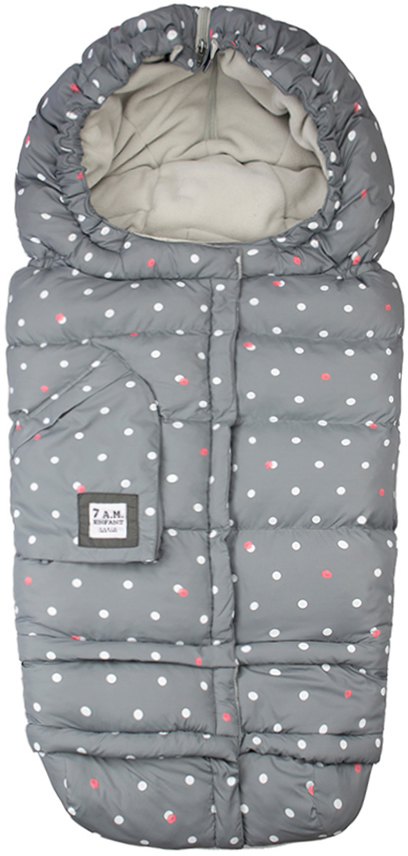 7 A.M. Blanket 212 Evolution - Grey Dots