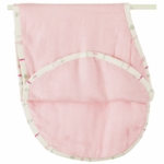 Aden + Anais Bamboo Burpy Bib - Tranquility Solid Rose