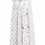 Aden + Anais Classic Swaddle Wrap 4 Pack - Paper Tales