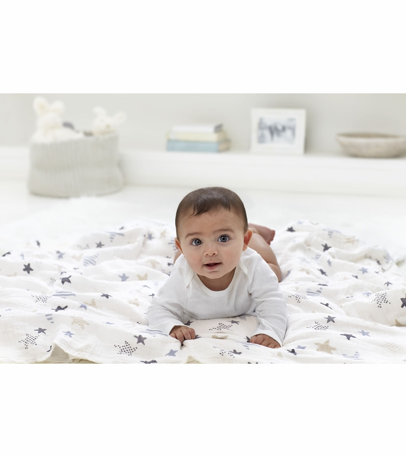 Our award-winning original muslin swaddle continues to set the standard worldwide. Breathable, versatile and soft as a mother's touch, the do-it-all fabric was designed .
