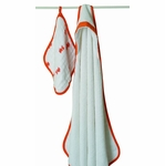 Aden + Anais Hooded Towel Set - Splish Splash