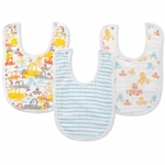 Aden + Anais Little Bib, Zutano - 3 Pack - Sunday Drive