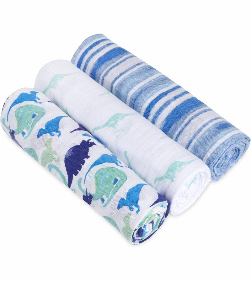 Aden Anais White Label Classic Swaddle Wrap 3 Pack