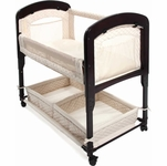 Arm's Reach Cambria Wood Co-Sleeper Bassinet