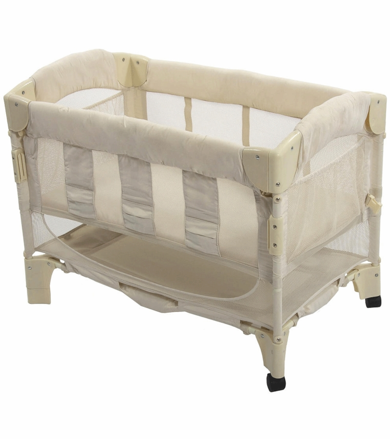 Arm 39 S Reach Mini Arc Co Sleeper In Natural Euro