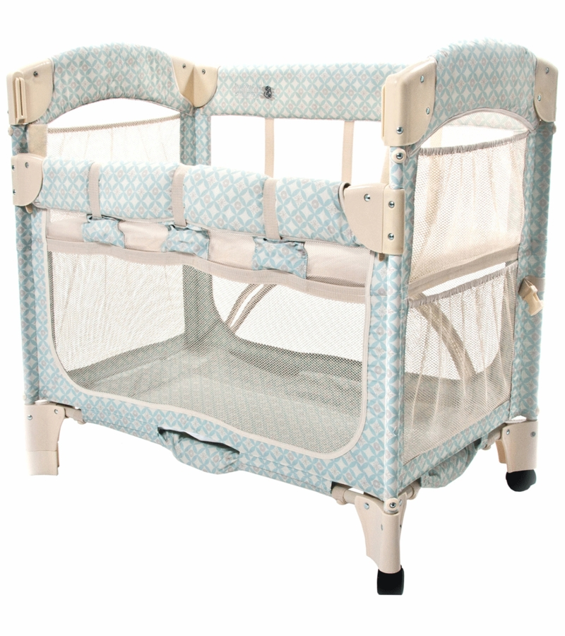 Arm 39 S Reach Mini Arc Co Sleeper In Turquoise Geo