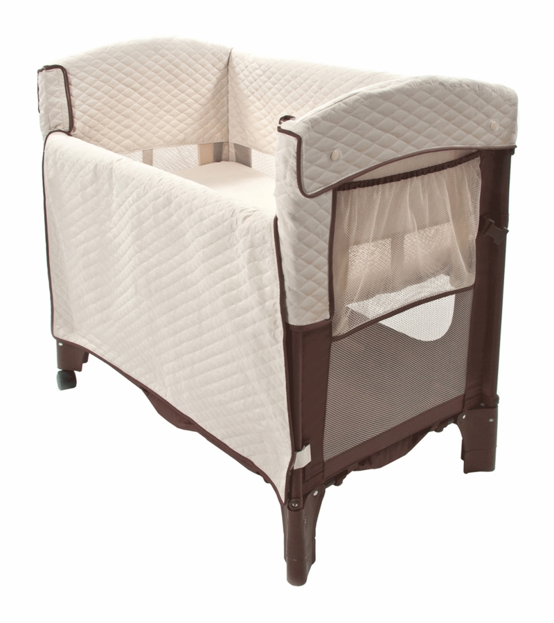 Arm 39 S Reach Mini Arc Convertible Co Sleeper In Cocoa Natural