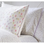 Auggie Pillow Case in Astrid Lilac
