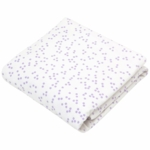 Auggie Twin Fitted Sheet in Astrid Lilac