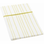 Auggie Twin Flat Sheet in Painted Stripe Fern