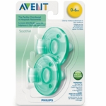 Avent Soothies 0-3 Months in Green