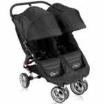 Baby Jogger 2011 City Mini Double in Black/Black