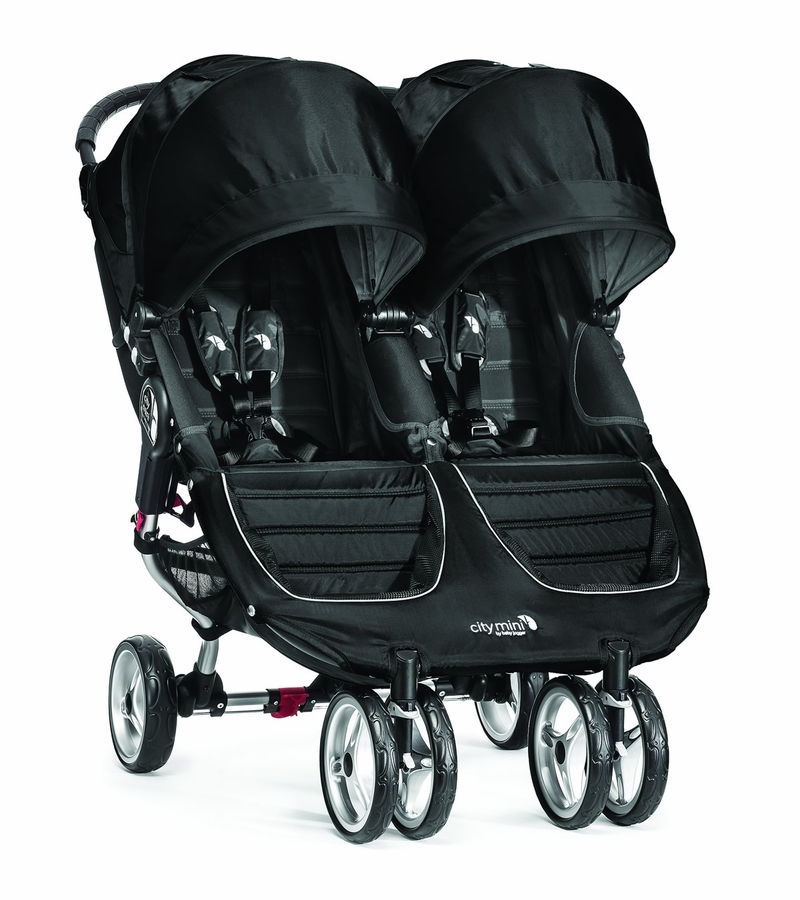 Baby Jogger City Mini Double 2016 2017 Black Gray