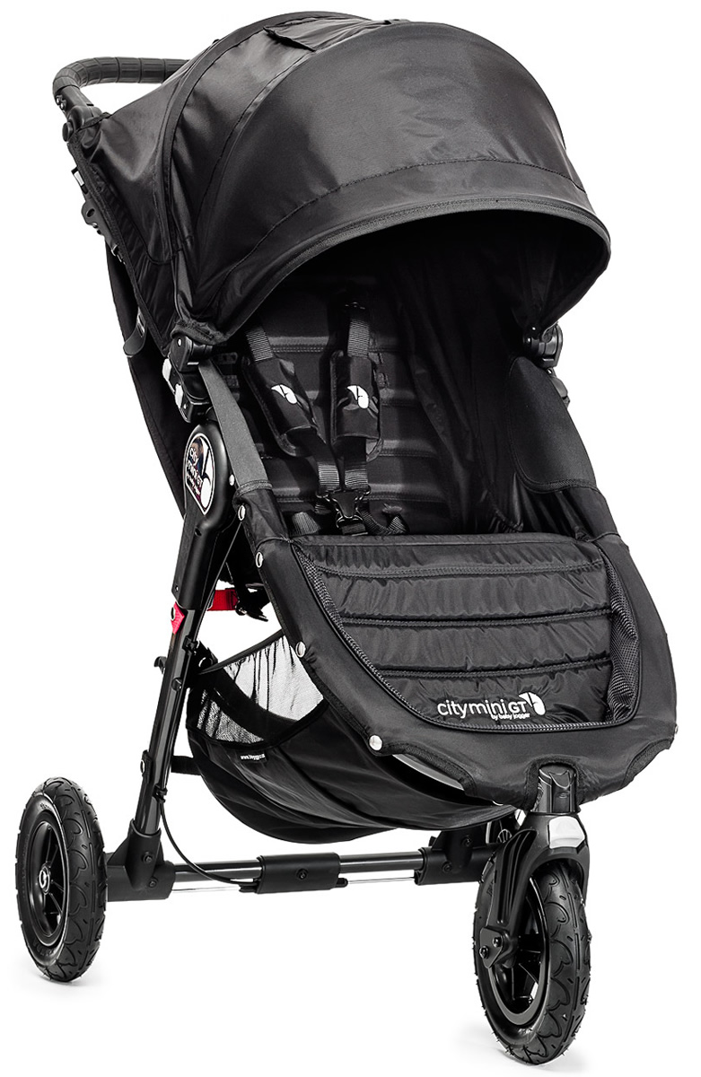 Baby Jogger City Mini GT Single 2016/2017 Black/Black
