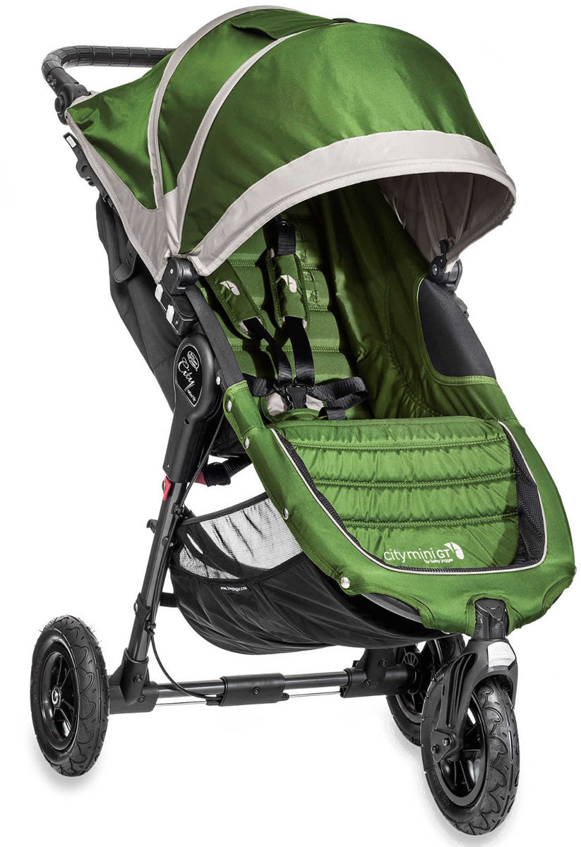 Baby Jogger 2014/2015 City Mini GT Single - Lime/Gray