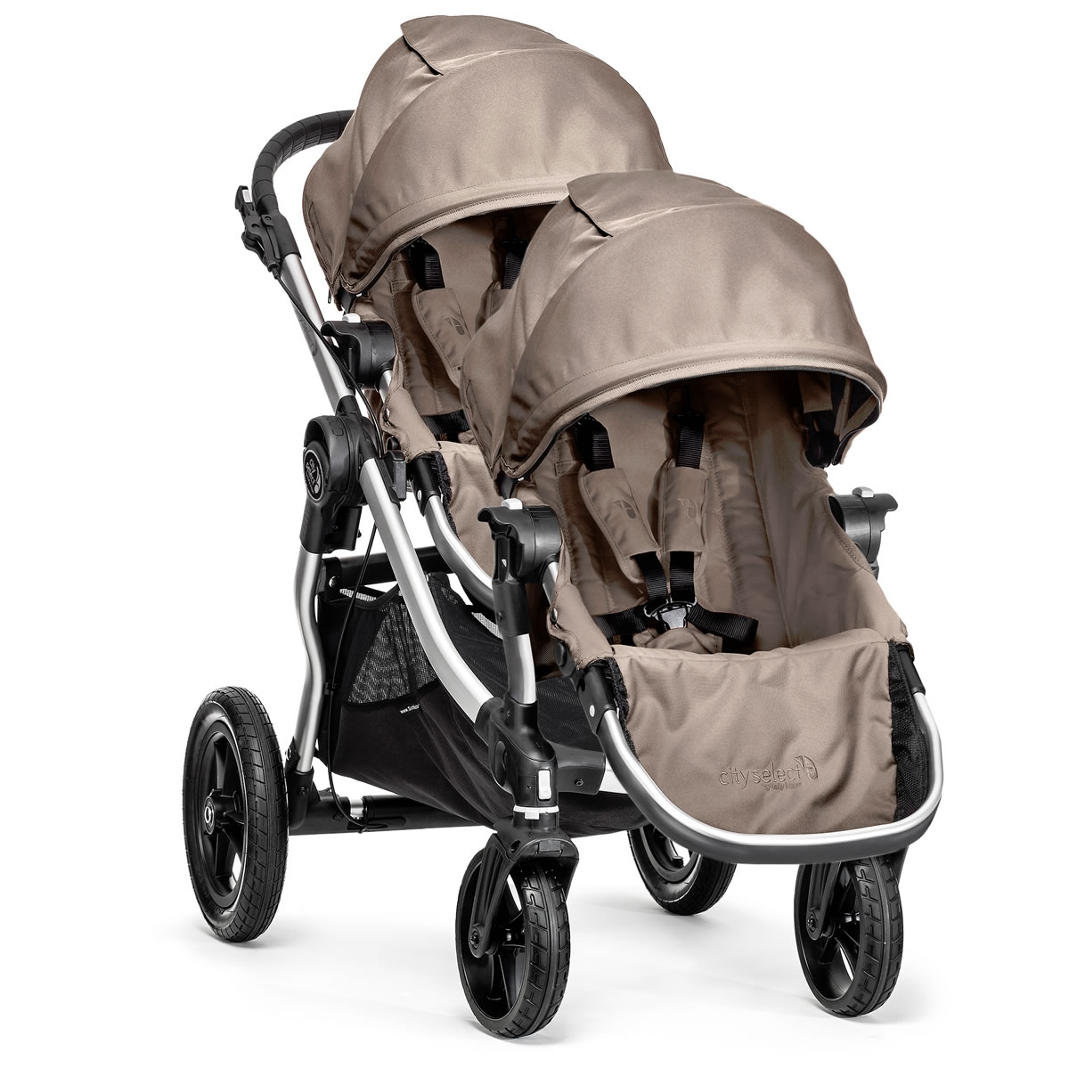 Baby Jogger City Select Double Stroller - Quartz