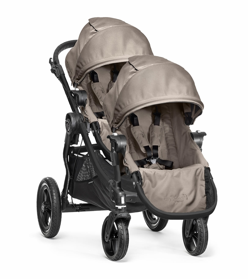 Baby Jogger City Select Double Stroller Sand 2014