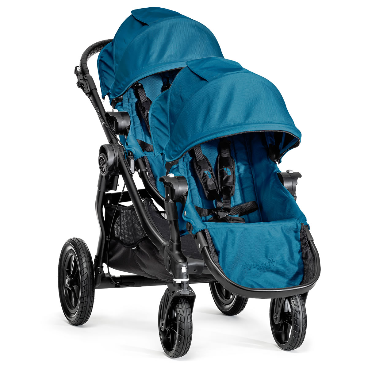 Baby Jogger City Select Double Stroller - Teal