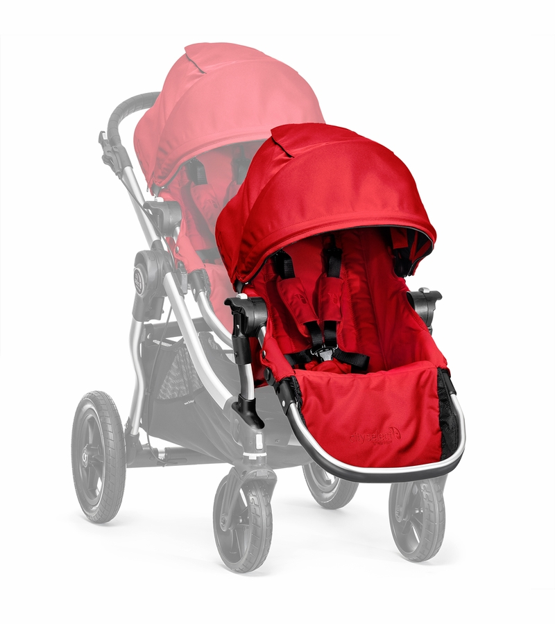 baby jogger city select second seat kit ruby. Black Bedroom Furniture Sets. Home Design Ideas