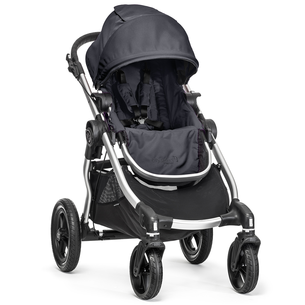 Baby Jogger City Select Single Stroller - Titanium
