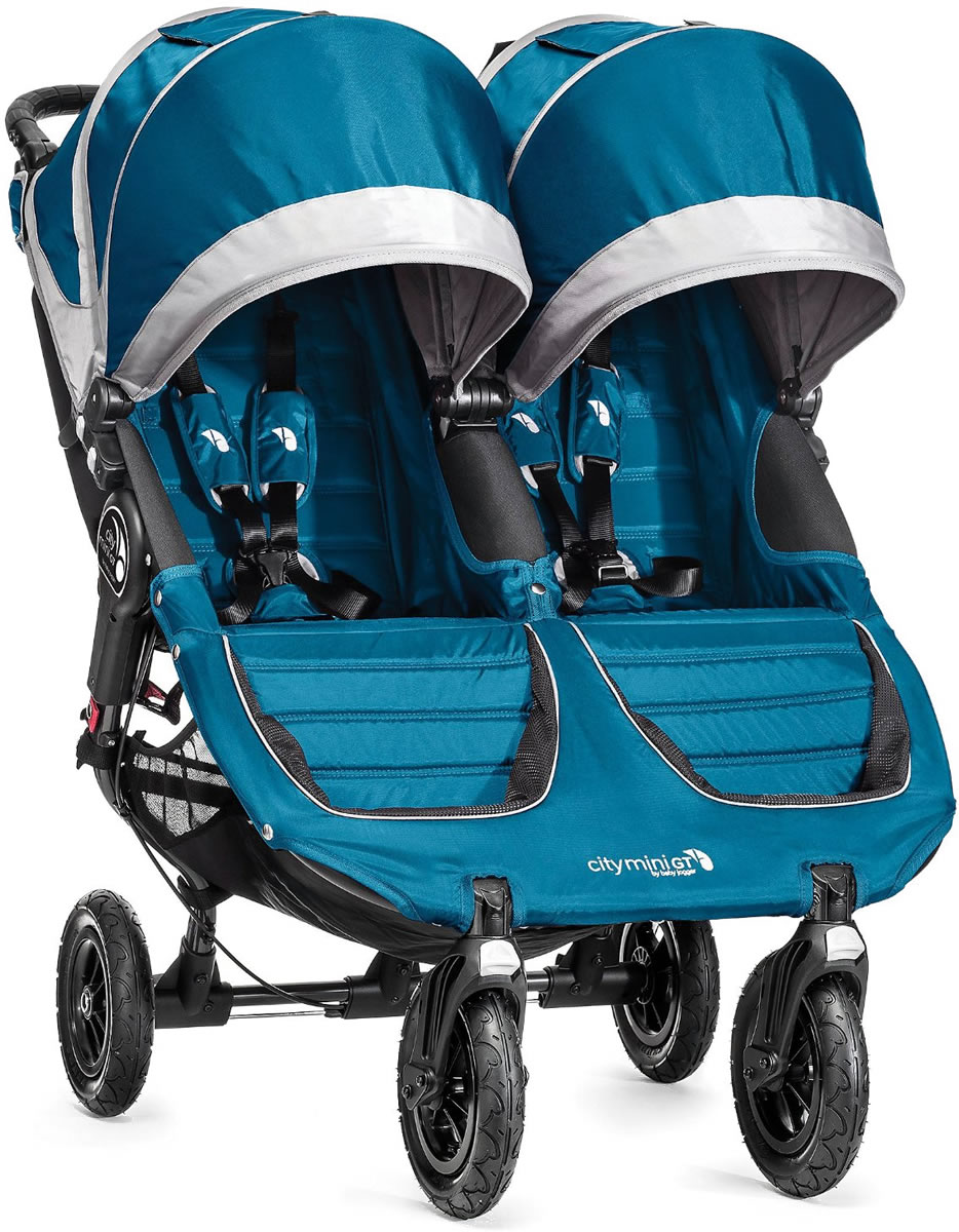 Baby Jogger City Mini GT Double Stroller 2016/2017 Teal /...