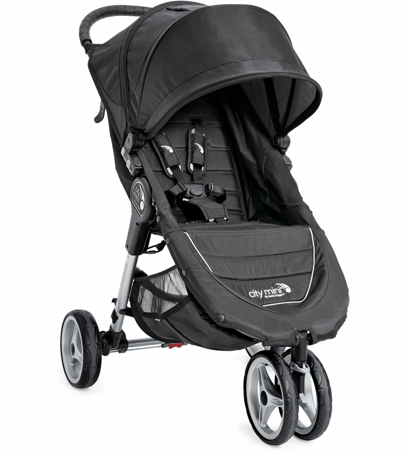 Baby Jogger 2016/2017 City Mini Single Stroller - Black / Gray