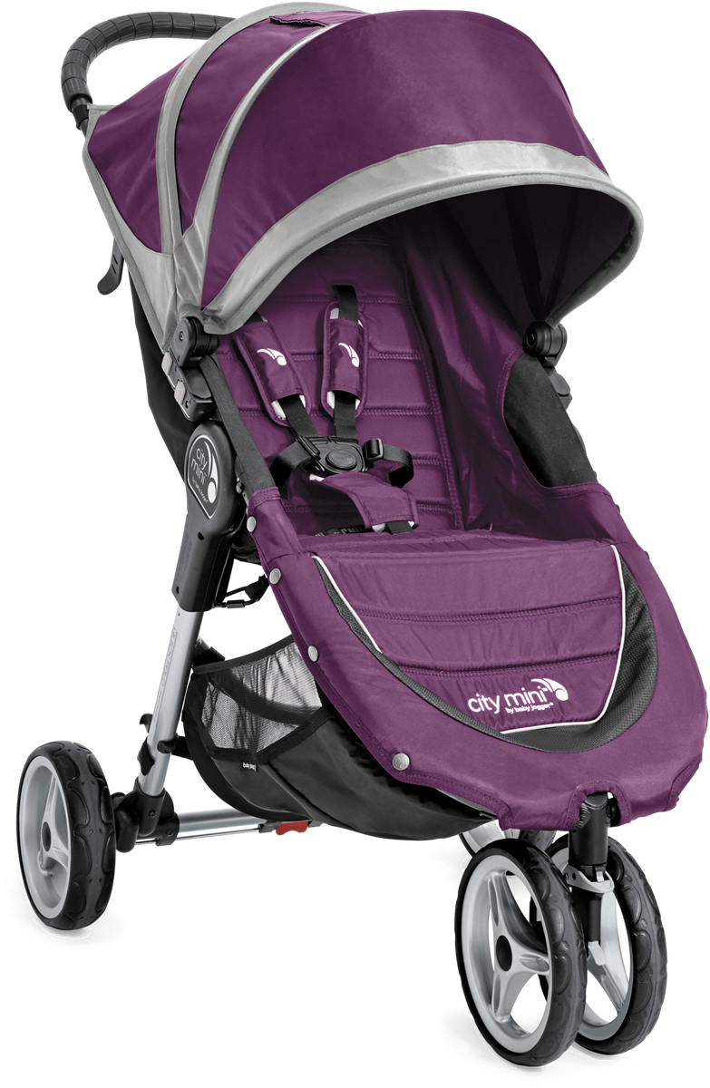Baby Jogger 2016/2017 City Mini Single Stroller - Purple ...