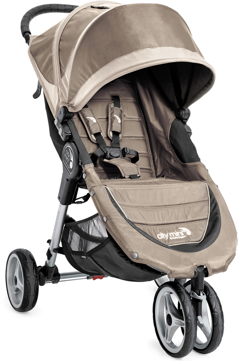 Baby Jogger 2016/2017 City Mini Single Stroller - Sand / ...