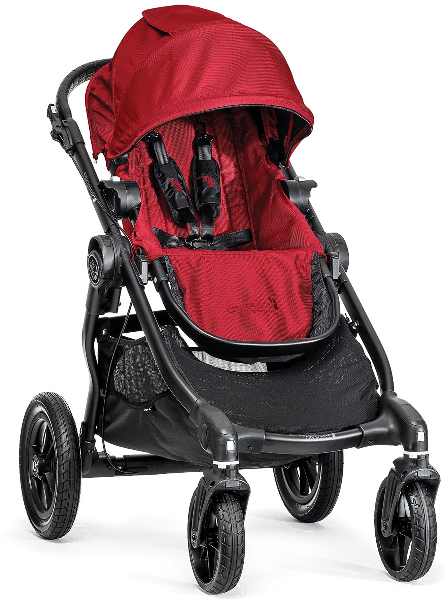 Baby Jogger City Select Single Stroller - Red
