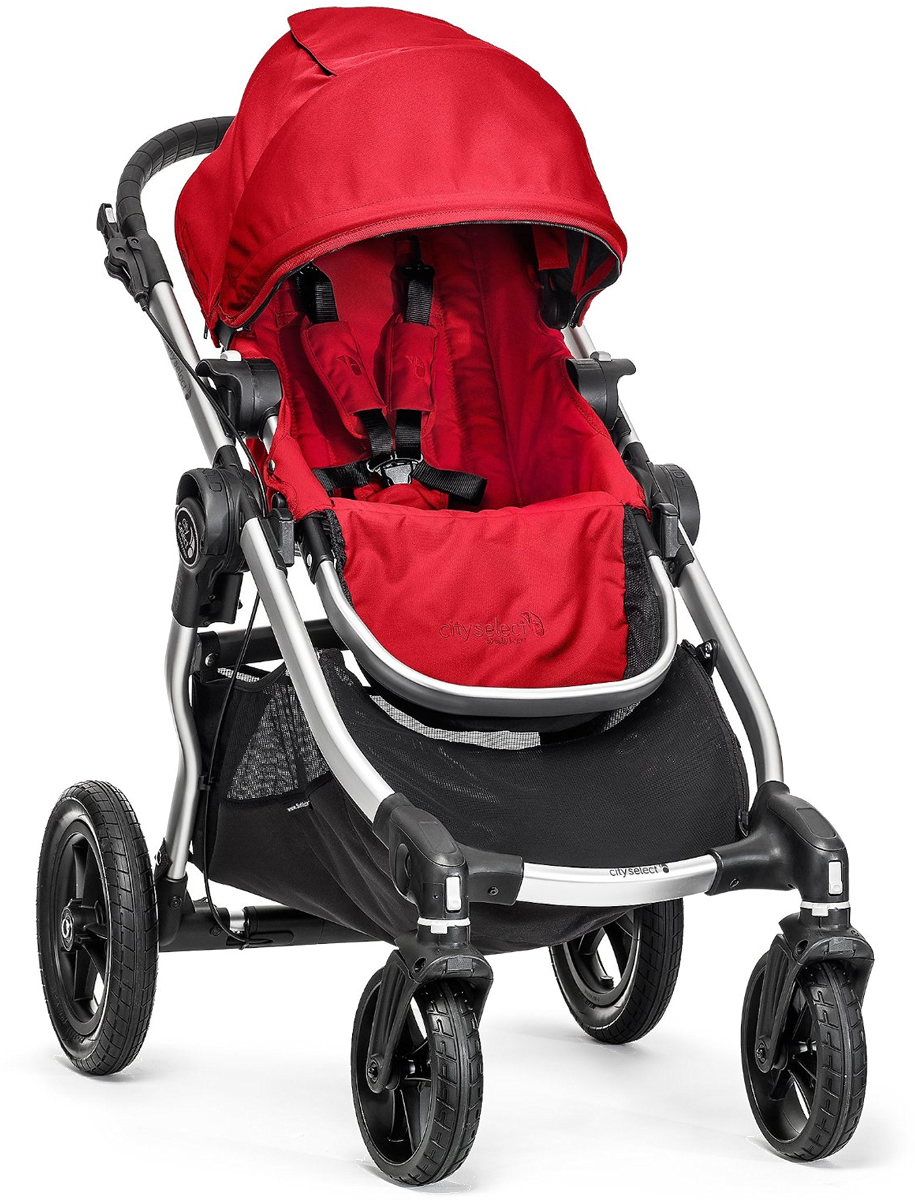 Baby Jogger City Select Single Stroller - Ruby
