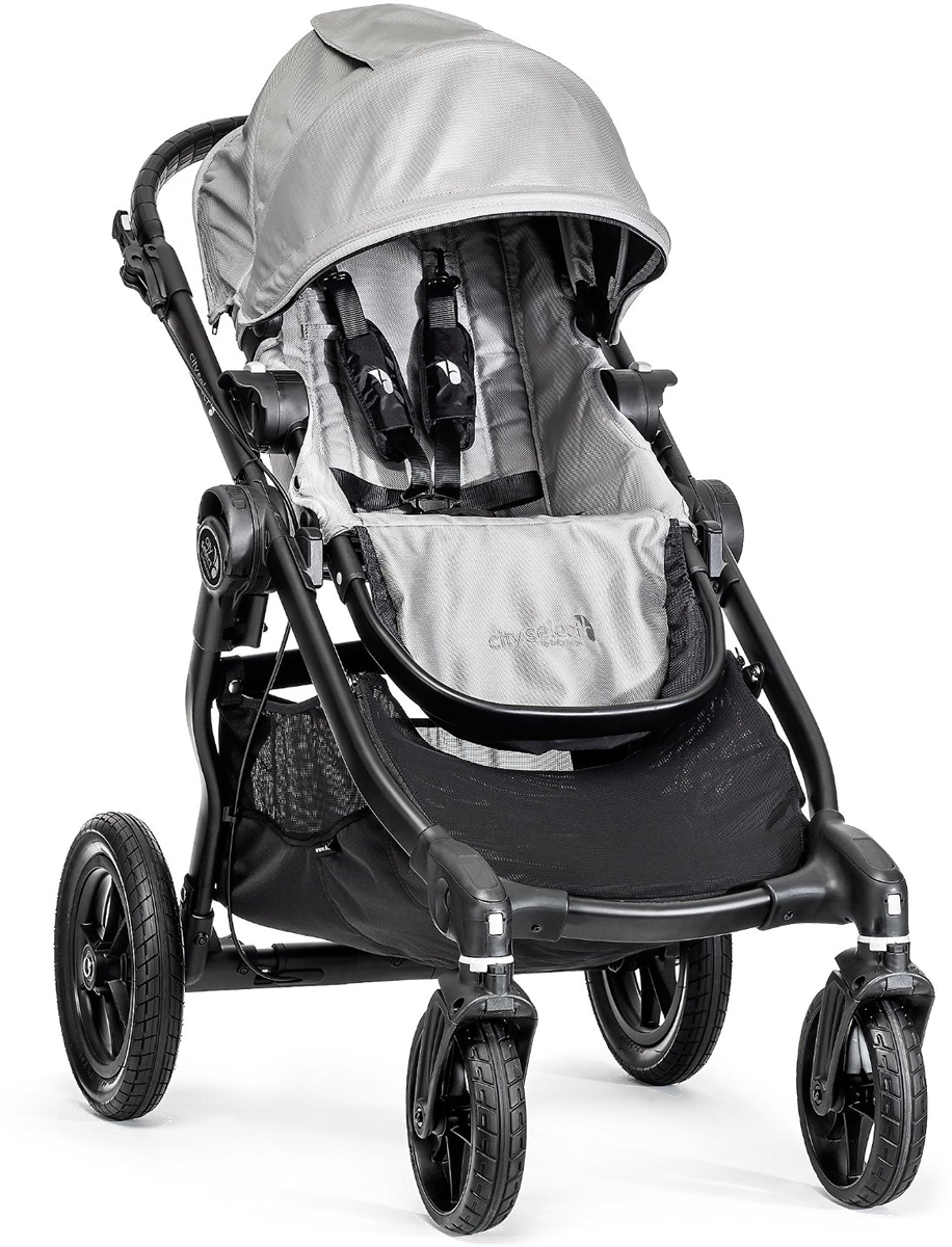 Baby Jogger City Select Single Stroller - Silver