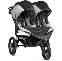 Baby Jogger 2016 Summit X3 Double Jogging Stroller - Black / Gray
