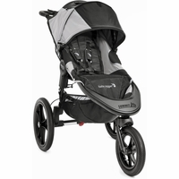 Baby Jogger 2016 Summit X3 Jogging Stroller - Black / Gray