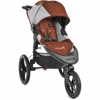 Baby Jogger 2016 Summit X3 Jogging Stroller - Orange / Gray