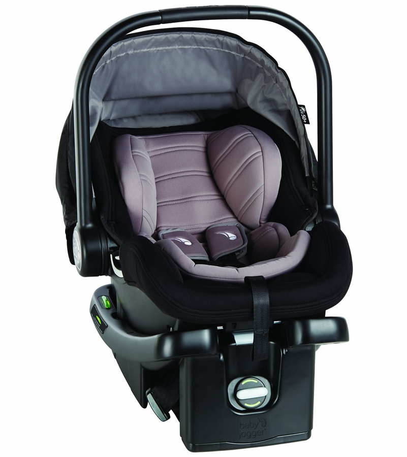 baby jogger city go infant car seat steel gray