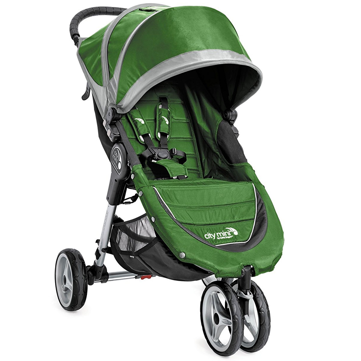 Baby Jogger 2016/2017 City Mini Single Stroller - Evergreen